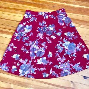 ECI Aline Floral Skirt